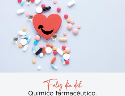 Feliz día del Químico Farmacéutico